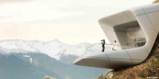 PHOTOS. Le sixième Messner Mountain Museum sera construit dans les Alpes italiennes d'ici