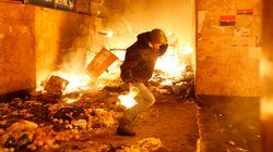 Kiev: une nuit de chaos en