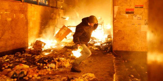 PHOTOS. Ukraine: les images d'une nuit de