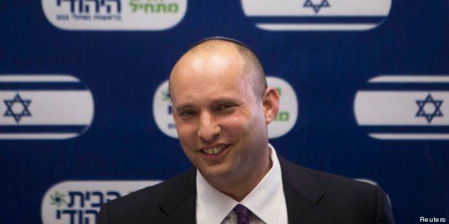 Naftali Bennett, ministre de l'Économie israélien: