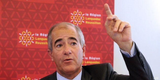 Christian Bourquin, président socialiste de la région Languedoc-Roussillon, fait don de 150 euros à l'UMP...