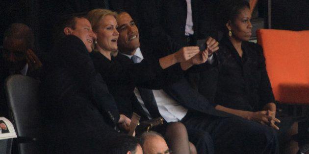 Selfie durant l'hommage à Mandela: la Première ministre danoise réagit à sa photo avec Obama et