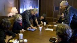 Bush fait la promo de ses toiles auprès d'Hillary