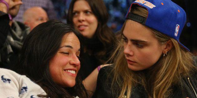 Cara Delevingne et Michelle Rodriguez sont officiellement