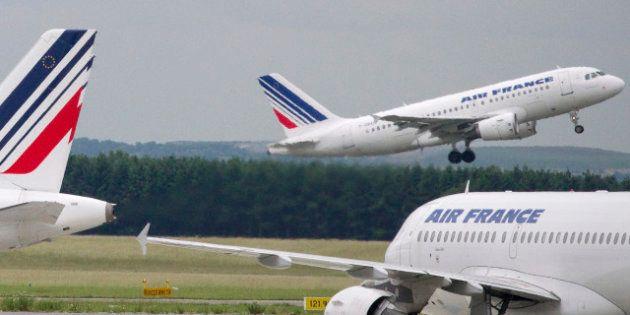 Air France : saisie record de cocaïne dans un avion du