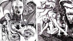 Qui veut un joli dessin signé Charles Manson