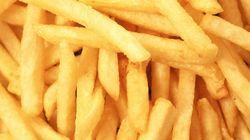 Cocorico, le plus gros cornet de frites est