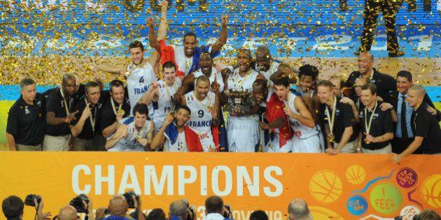 Basket : les bleus sont champions