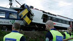 Suisse : collision entre deux trains, 1 mort et 35