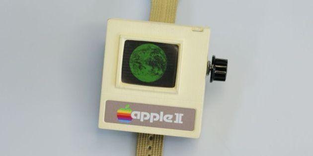 VIDÉO. Apple II Watch, la version vintage à fabriquer avec une imprimante
