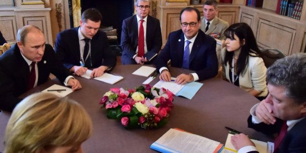 Ukraine/Russie: un sommet se tiendra mercredi à Minsk pour tenter régler le conflit dans l'Est de