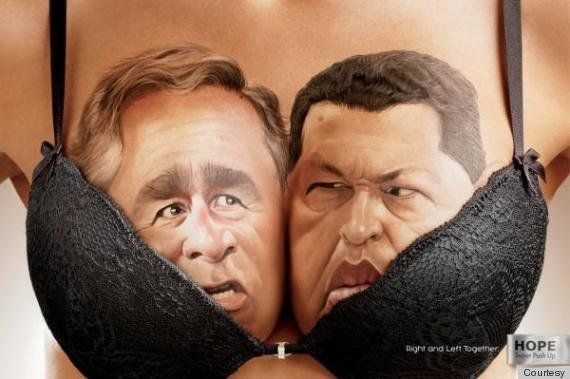 PHOTOS. Une publicité pour soutiens-gorge met face-à-face des adversaires