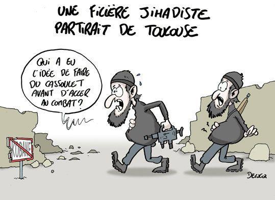 Des djihadistes de Toulouse: ça change