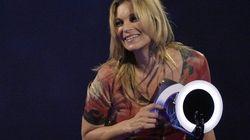Brit Awards: Kate Moss en Ziggy Stardust pour le prix de