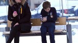 Auriez-vous donné votre manteau à ce petit garçon