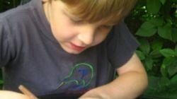 Ce petit garçon de 5 ans écrit au monde