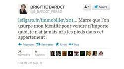 Un premier tweet énervé pour Brigitte