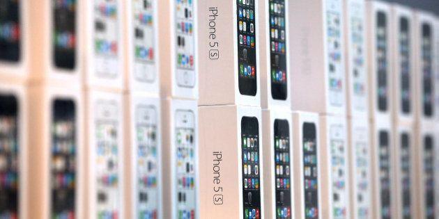 Ventes iPhone 5c et 5s: 9 millions d'unités écoulées en 3 jours, record
