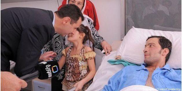 PHOTOS. Bashar el-Assad ouvre un compte