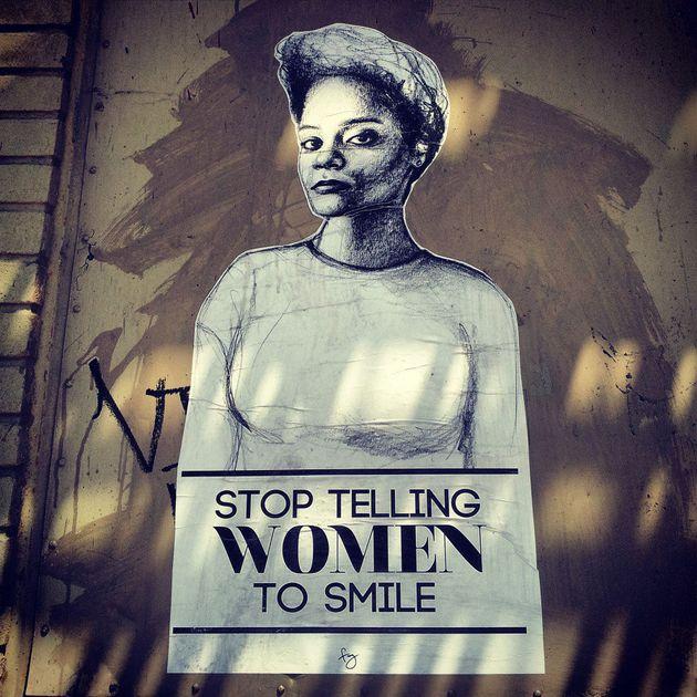 PHOTOS. Du street art contre le harcèlement de