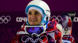 Marie Martinod médaille d'argent en ski