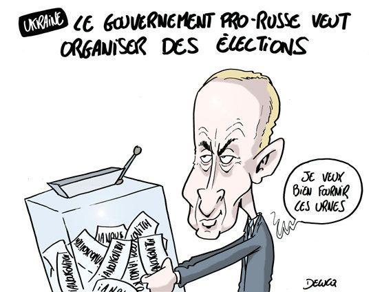 Ukraine : Des élections pour calmer la