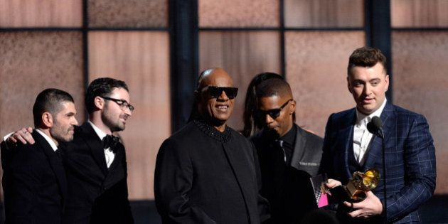PHOTOS. Grammy Awards 2015: Sam Smith, Beck, Beyoncé et Pharrell Williams