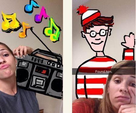 PHOTOS. Snapchat: d'incroyables dessins à partir de l'application