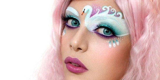 PHOTOS. Maquillage artistique : Tal Peleg, la maquilleuse qui transforme ses paupières en oeuvres