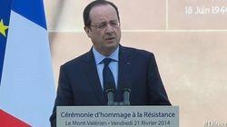 Hollande fait entrer quatre résistants au Panthéon en