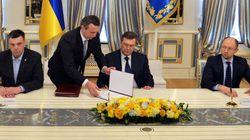 Ukraine: ce que prévoit l'accord entre le président et