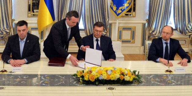 Ukraine: les détails de l'accord entre le président et