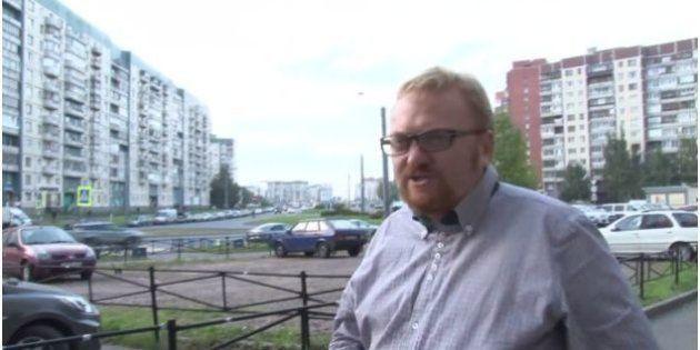 VIDÉOS. Russie: Vitaly Milonov, le député à l'origine de la loi anti-gay les traite de