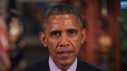 Le message d'Obama aux