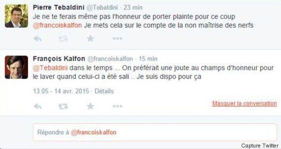 François Kalfon (PS) gifle un élu UDI et lui propose une