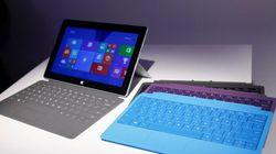 Microsoft présente 2 nouvelles versions de sa tablette