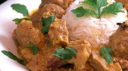 Curry d'agneau à
