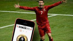 Cristiano Ronaldo joue pour son propre réseau