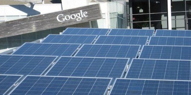 Google: vers une énergie 100%