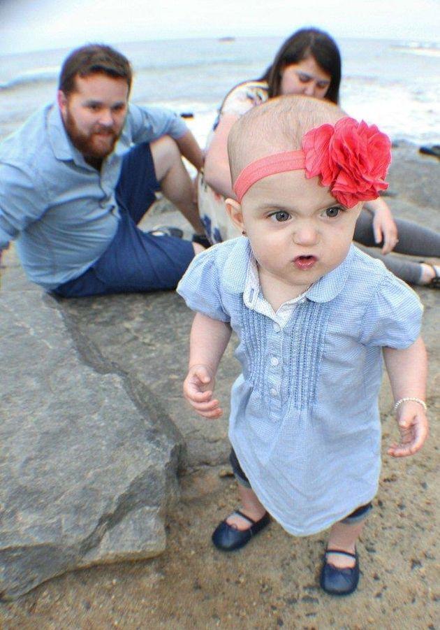 PHOTO. Les parents de cette petite fille voulaient juste une belle photo de