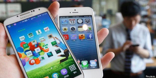 Le Samsung Galaxy a dépassé l'iPhone d'Apple dans une étude de satisfaction