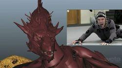 Comment Benedict Cumberbatch a joué Smaug, le dragon du