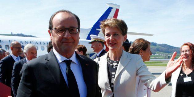 En Suisse, Hollande estime que la question de la brouille fiscale