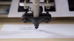 Ce robot écrit comme vous... mais en