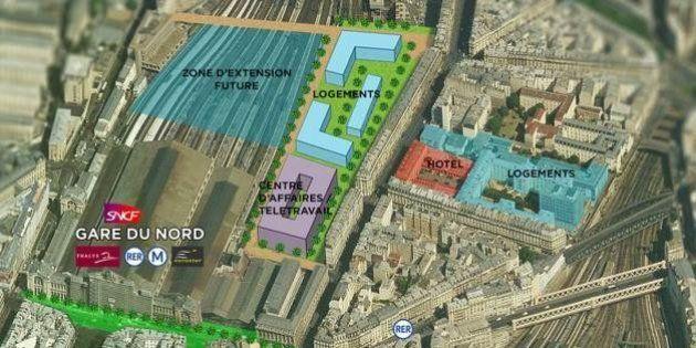 Gares à Paris: NKM veut construire des logements et un parc par dessus les