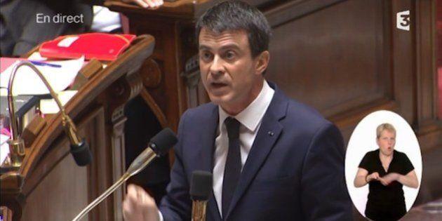 VIDEO. Impôts locaux: Manuel Valls accuse la droite de