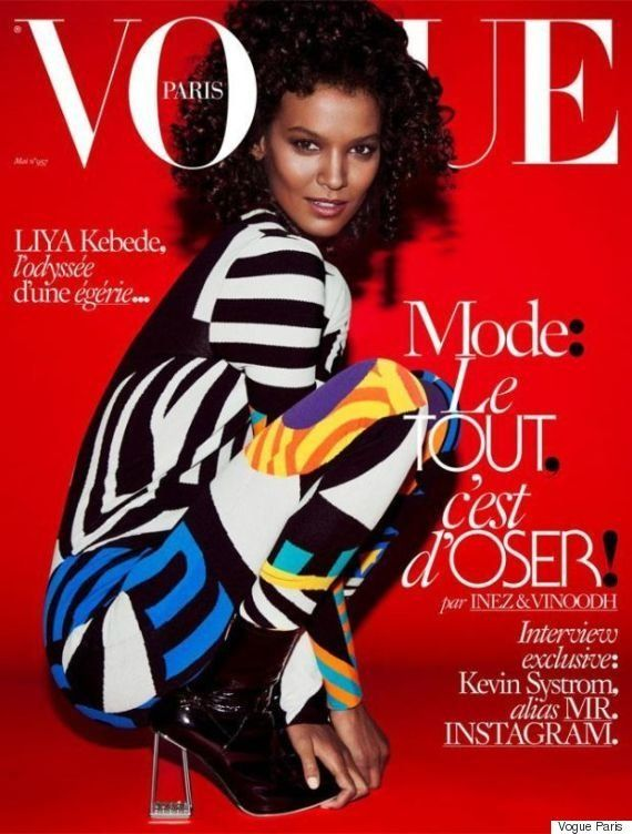 Liya Kebede est la première mannequin noire en couverture de Vogue Paris depuis cinq
