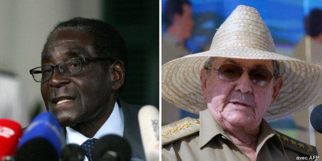 PHOTOS. Mugabe, Élisabeth II, Castro... ces dirigeants qui restent au pouvoir bien après 80