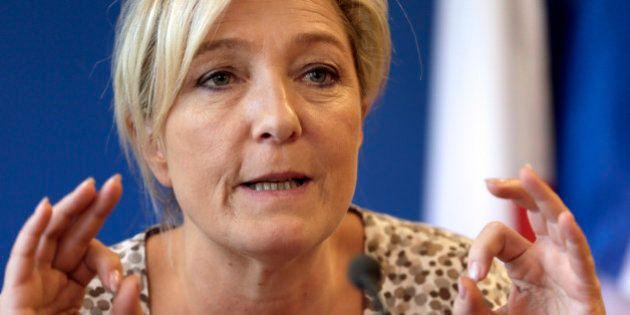 Marine Le Pen estime que les homosexuels ne sont pas