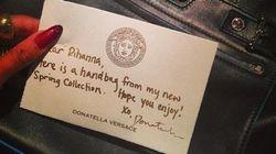 Rihanna affiche ses cadeaux de Noël sur